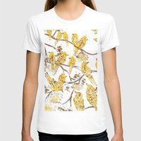 batik T-shirts featuring Feathered Friends Batik by Rendra Sy