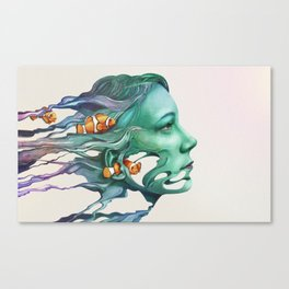 Actinodendron Plumosum Canvas Print