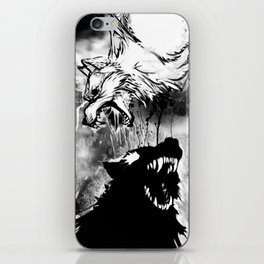 Two Wolves iPhone Skin
