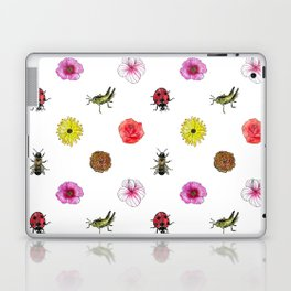 Bugs and Florals Laptop & iPad Skin