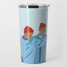 The Life Aquatic with Steve Zissou: Minimalist Poster Travel Mug