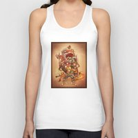 final fantasy Tank Tops featuring Final Fantasy IX by Dice