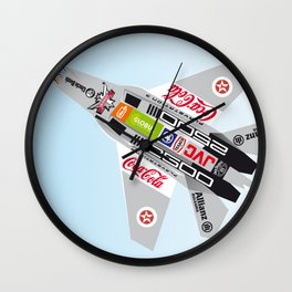 popwarIII Wall Clock
