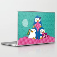 hentai Laptop & iPad Skins featuring 1-2-3 / We are Family! by Yue Graphic Design