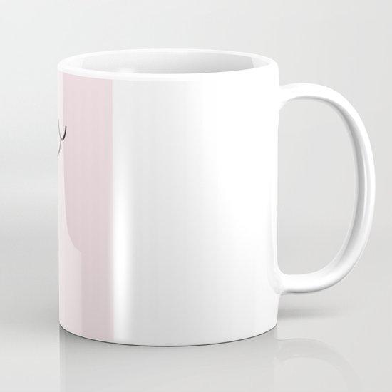 Happy Pig Minimalist Mug