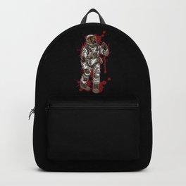 Zombie Astronaut   Horror Galaxy   Halloween Backpack