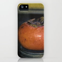 Persimmon Still Life iPhone Case
