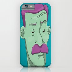 Bold mustaches & Thin eyebrows iPhone 6s Slim Case