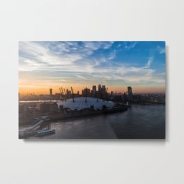 London O2 Metal Print