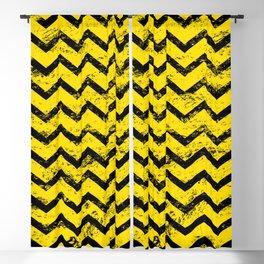 CHEVRON HONEY Blackout Curtain