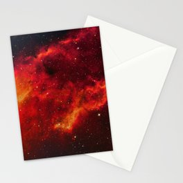Nebula in Constellation Perseus Stationery Cards