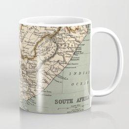 Vintage Map of South Africa (1889) Coffee Mug