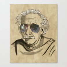 Albert's Sunglasses II Canvas Print