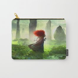 Merida The Brave - Portrait Merida Walking Carry-All Pouch