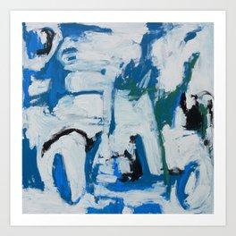 Italian Blue Art Print