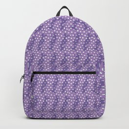 Greyhound Floral in Purple Backpack