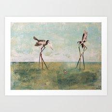 artist Art Print
