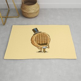 The Fancy Waffle Rug
