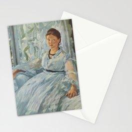 Edouard Manet - The Reading Stationery Cards