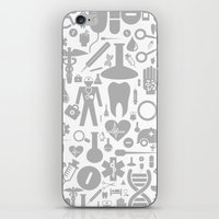 medical iPhone & iPod Skins featuring Medical background by aleksander1