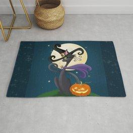 Halloween Night Magic Rug