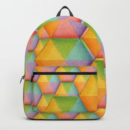 Rainbow Facets Backpack