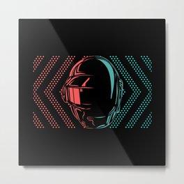 Daft Punk Metal Print