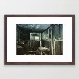 Forbidden Room Framed Art Print