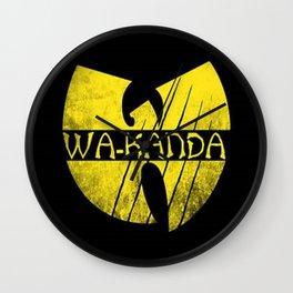 Wa-Tang Kanada! Wall Clock