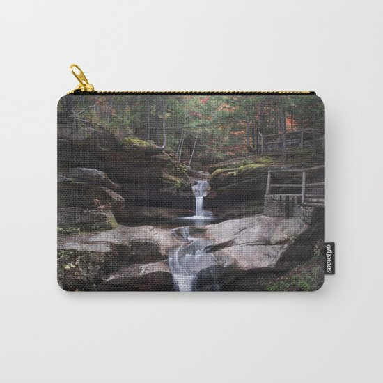 Sabbaday Falls in Autumn 2016 Carry-All Pouch
