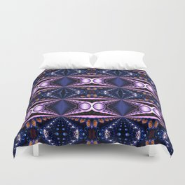 Gems and Hearts Duvet Cover