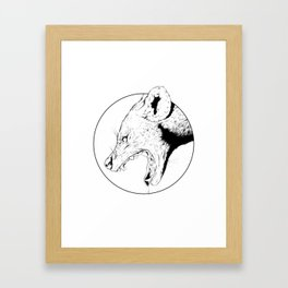 Hyena Framed Art Print