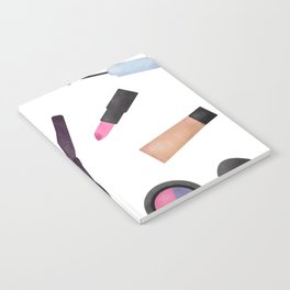Scattered Makeup Pattern Notebook