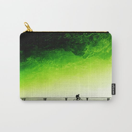 Toxic bicycle Carry-All Pouch