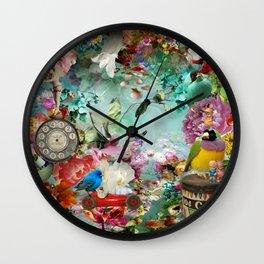 The Secret Garden Wall Clock