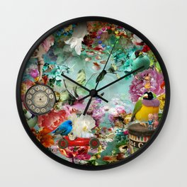 The Secret Garden Wall Clock