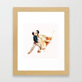 Gene Kelly and Cyd Charisse - Brigadoon Framed Art Print