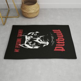 Pitbull My Personal Trainer Rug