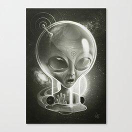 Alien IV (Decompressed) Canvas Print