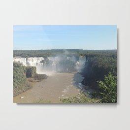 Iguazu Falls Landscape 3 Metal Print