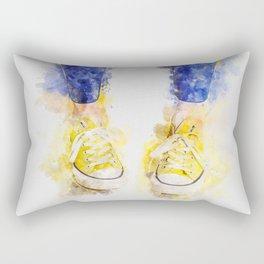 My yellow All Star Rectangular Pillow