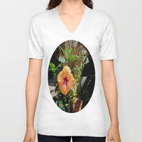 arizona V-neck T-shirts featuring Arizona Sunshine  by Brown Eyed Lady