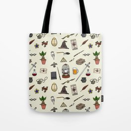 Harry Pattern Tote Bag
