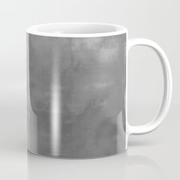Burst of Color Gray Abstract Sponge Art Blend Texture Coffee Mug