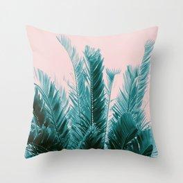 Tropical Leaves Dream #6 #tropical #decor #art #society6 Throw Pillow