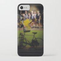 tour de france iPhone & iPod Cases featuring tour de france by Emanuele Reina
