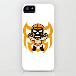 LUCHA#16 iPhone Case