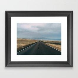 Road to Lima Framed Art Print