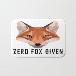Zero Fox Given (low poly) Bath Mat
