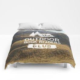 The Outdoor Book Readers Club Comforters